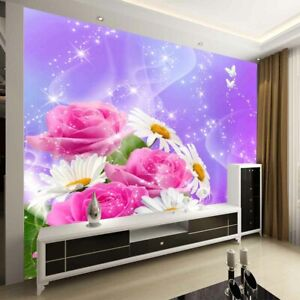 Close Single Flower 3D Full Wall Mural Photo Wallpaper Printing Home Kids Decor