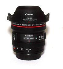 Canon EF 8-15/4 L USM Objektiv Fisheye Zoom