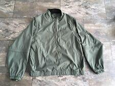Men's Xxl Walter Hagen Green Golf Coat. Wind Protector With Zip Off Sleeevs