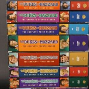 HAZZARD 1 - 7 cofanetto SERIE TV COMPLETA 29 DVD