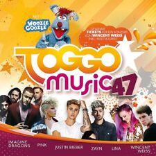 TOGGO MUSIC 47 - IMAGINE DRAGONS, PINK, JUSTIN BIEBER, ZAYN, LINA -  CD NEUF