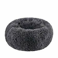 New listing WonderKathy Modern Soft Plush Round Pet Bed for Cats or Small Dogs, Mini Medium