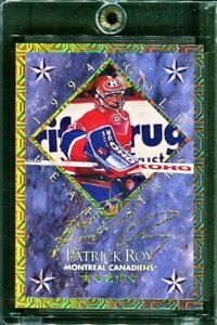 PATRICK ROY / MIKE RICHTER 1994-95 LEAF GOLD STARS #'d/10000 *Mint Condition!*