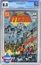 NEW TEEN TITANS #26 (1982) 1ST PRINTING DC BRONZE AGE CGC VERY FINE 8.0