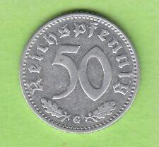 50 REICH PFENNIG 1940 G RARO nswleipzig