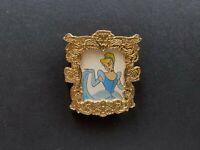 DLR - Princess Portraits Cinderella White Background Disney Pin 45187