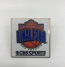 1998 NCAA Final Four San Antonio CBS Sports Iconic Year Beautiful Press Pin