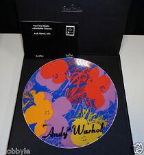 "Rosenthal Andy Warhol "" Wandteller Flowers ""  24 cm Neu & Ovp 1.Wahl"