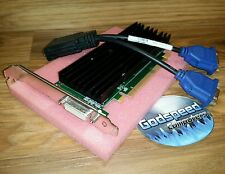 NVIDIA QUADRO Dell Optiplex 380 390 780 Tower Dual VGA Monitor Video Card PCIe