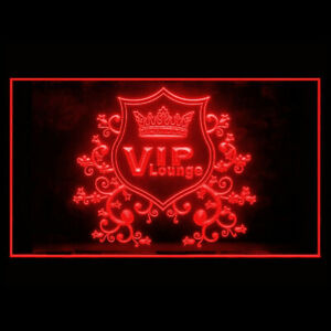 170175 VIP Lounge Membership Exclusive Display LED Light Neon Sign