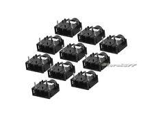 10Pcs DIP PCB Mount 3 Pins Female 3.5mm Stereo Audio Jack Socket s649-3