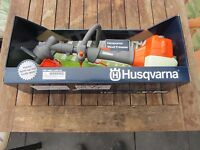 HUSQVARNA Spielzeug-Trimmer/Motorsense für Kinder NEUES MODELL