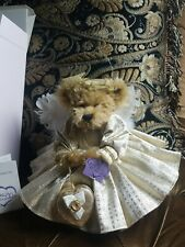 Annette Funicello Goldie Mohair Bear! CERTIFICATE #2064 of 20000! COLLECTIBLE