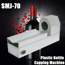 110V Smj-70 Heat Shrinkable Plastic Red Wine Bottle Cap Lids Shrink Machine