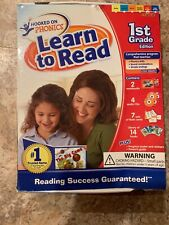 Brand New Hooked on Phonics Learn to Read First Grade Level 1