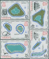 Kiribati 1986 SG256-260 Islands set MNH