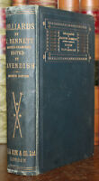 1899 Billiards Joseph Bennett Retired Champion With 196 Diagrams Plays Strokes