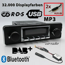 Retrosound Santa Barbara DAB + SET COMPLETO Trim DIN Oldtimer radio USB Bluetooth