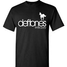 DEFTONES Rock Band Logo Men's T-Shirt Size S-2XL