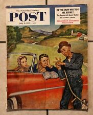 Saturday Evening Post July 9 1955; Philippines; Oklahoma; Sky Sentry; Coke Ad