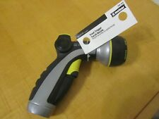 G828 NWT Melnor Metal Front Trigger 8-Pattern Nozzel Rubber Grip 160-442
