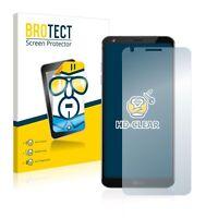 LG G6 , 2x  BROTECT® HD-Clear Screen Protector glass, hard-coated