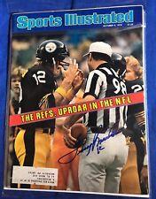 Terry Bradshaw Signed Sports Illustrated Magazine Autographed