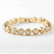 Touchstone Crystal by Swarovski GOLDEN ICE Bracelet NIB