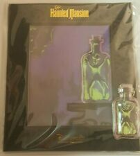 D23 EXPO 2019 THE HAUNTED MANSION ATENCIO GHOST IN A BOTTLE PIN WITH ART LE 999