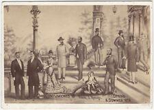 1878 Omaha Nebraska Spring-Summer 1878 Men's Fashion Photo Cabinet Card