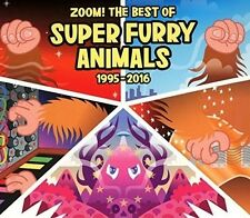 SUPER Furry Animals-Zoom! the Best of (1995-2016) SoftPak 2 CD NUOVO