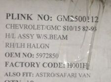 Astro Safari Express Savana Firebird Sealbeam Headlight chevrolet gmc 5972850