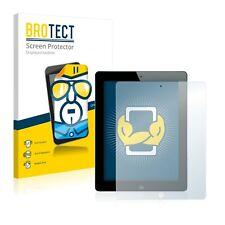 2x BROTECT Protector Pantalla para Apple iPad 4. Generation Película Protectora