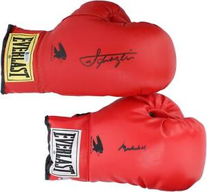 Muhammad Ali & Joe Frazier Autographed Pair of Boxing Gloves