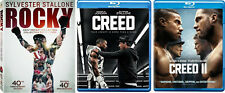 Rocky Saga Complete Series Collection 1-6 & Creed 1 & 2 Blu-ray NEW Sly Stallone