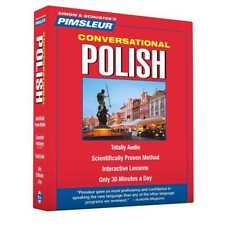Pimsleur Polish Conversational Course - Level 1 - Lessons 1-16 - Audiobook 8 CDs