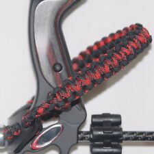 Black Widow Camo and Black Bling Sling, Archery bow wrist sling