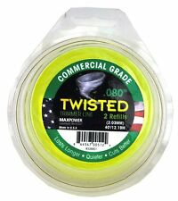 Maxpower 338801 Premium .080-Inch Twisted Trimmer Line 40-Foot Length *