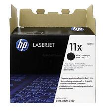NEW Genuine HP 11X Q6511X  High Yield Black Toner Cartridges - Opened Box