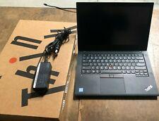 "Lenovo ThinkPad T480 Laptop i5-8350U 1.7GHz, 16GB, 14"" Touch Screen, 512GB SSD"