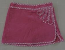 LILLY PULITZER Girls Sz 5 Pink Corduroy Cotton Skort EXC