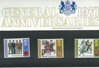 GB Presentation Pack 32a 1971 General Anniversaries