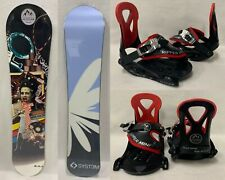 "SMALL KIDS ""SYST3M"" SNOWBOARD 110CM (50-85LBS) +1K-3K MINI RIPPER BINDINGS"