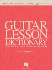 The Guitar Lesson Dictionary - An A-Z Guide to Tips Techniques 000258100