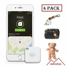 Tile Mate GPS Bluetooth Tracker - Key Finder Locator - iPhone Android - 4 Pack