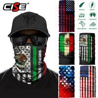3D National Flag Face Mask Fishing Sun Shield Neck Gaiter Bandana UV Headband