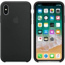 Original Ultra-thin Silicone Cover Phone Case For iphone Xs Xr X  6s 7 8 plus SE