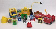 Lego Duplo LOT Disney Cars Toy Story Sir Tophamm Hatt Jake Neverland Pirates+++