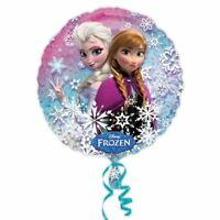 "Disney Frozen Elsa Anna 18"" Foil Balloon Birthday Party Princess Helium Anagram"