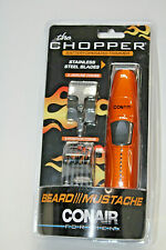 New Conair THE CHOPPER Beard/ Mustache Trimmer  Jawline Battery Operated Free Sh